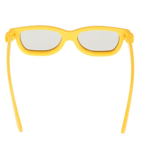 Пассивные 3D-очки Круговые поляризованные объективы для поляризованного телевизора Real D 3D Cinema для Sony Panasonic