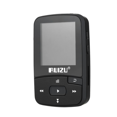 RUIZU X50 8GB 1.5in BT MP3 MP4 Player with Screen