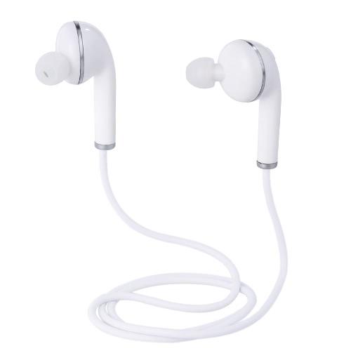 Écouteurs stéréo Bluetooth V3 Écouteurs intra-auriculaires sans fil Bluetooth 4.1 Mains libres avec casques micro pour iPhone Appareils compatibles Bluetooth Samsung avec sac de rangement