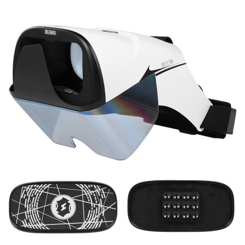 AR Headset Box Glasses 3D Hologram Hologram Display Holographic Projector para telefones inteligentes com 4.2-5.7in Virtual Handle