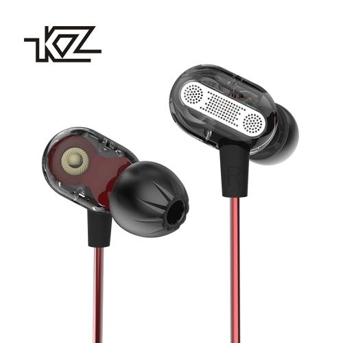 KZ ZSE 3.5mm In Ear Earphone Dynamic Dual Driver