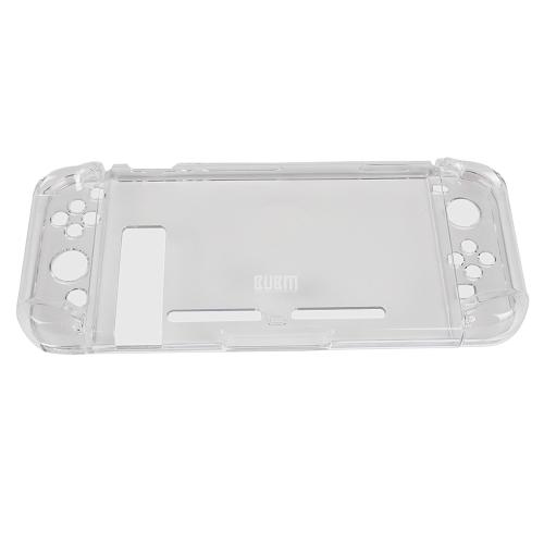 Caixa de cristal BUBM para capa protetora de interruptor Capa de capa dura para controlador de console de videogame SWITCH