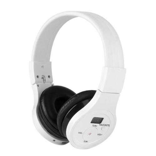 HRD-391 Беспроводная Bluetooth-гарнитура Портативные музыкальные наушники Проводные наушники FM-радио AUX IN с ЖК-дисплеем