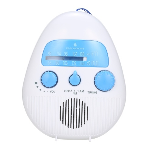 SY-900 FM / AM Tragbares Radio Mini-Duschradioempfänger Wasserdicht