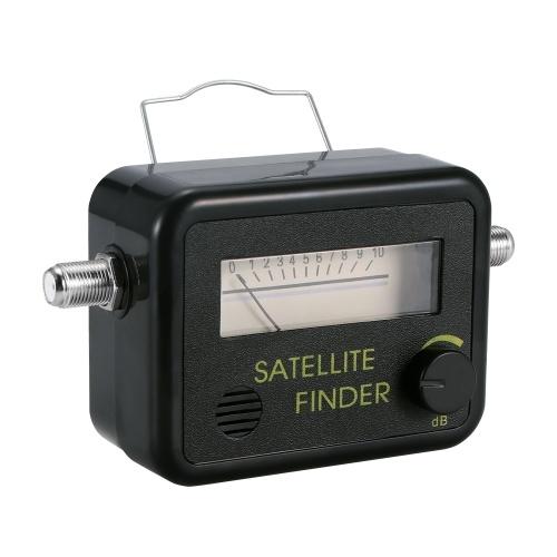 TV Signal Finder Find Alignment Signal Receiver Signal Meter Receptor Signal Amplifier Compatible with Sat Dish TV LNB Direc Digital TV