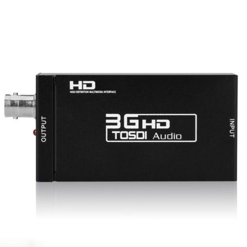 HDV-S009 Mини 3G HD к SD-SDI HD-SDI 3G-SDI Видео конвертеру 2.97Gbit