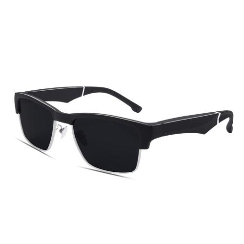 K2 Умные солнцезащитные очки Беспроводная стереогарнитура BT5.0 Звонки в режиме громкой связи Музыка Аудио Солнцезащитные очки Голосовое управление Поляризованные солнцезащитные очки