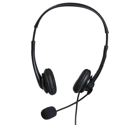 OY136 3.5mm Computer Headset with Microphone Noise Cancelling Head-mounted Headphone Wired Call Center Headsets for Business Call Center