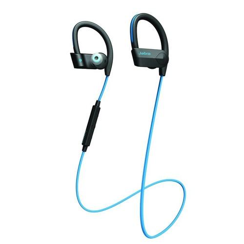 Jabra Sport Pace Беспроводная Bluetooth-гарнитура Наушники-вкладыши Наушники для спорта Наушники IP54 Потоотделение в линейном управлении Hands-free с микрофоном Blue