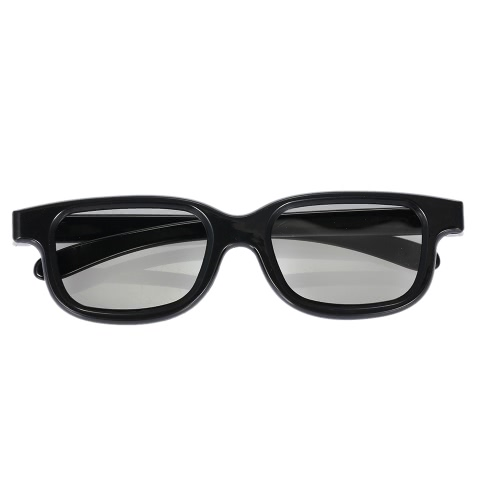 PL0017 3D Glasses Passive Circular Polarized for Polarized TV Real D 3D Cinemas