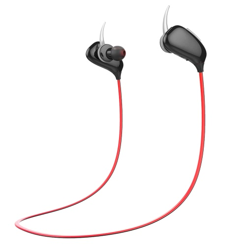 A201 Bluetooth 4.1 Headphone In-ear Earphone Outdoor Sport Stereo Music Headset Hands-free Calling Black for Running Gym Exercise