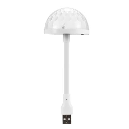 Docooler Omni-direction USB Veilleuse Coloré Néons Lumières de l'atmosphère pour Haut-parleur de Microphone d'ordinateur
