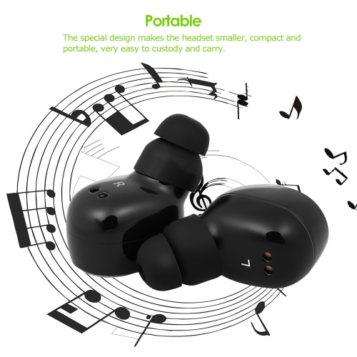 True Wireless Bluetooth Headphone In-ear Stereo Music Earphone