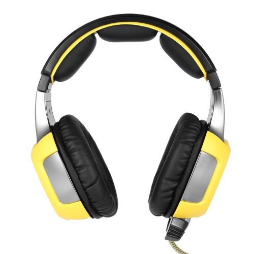 SADES SA906S USB PC Gaming Headset com microfone