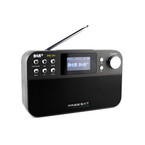 FREESAT DR-103 Portable Digital DAB + DAB FM Radio