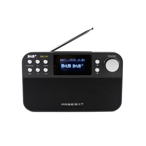 FREESAT DR-103 Портативный цифровой DAB + DAB FM-радио
