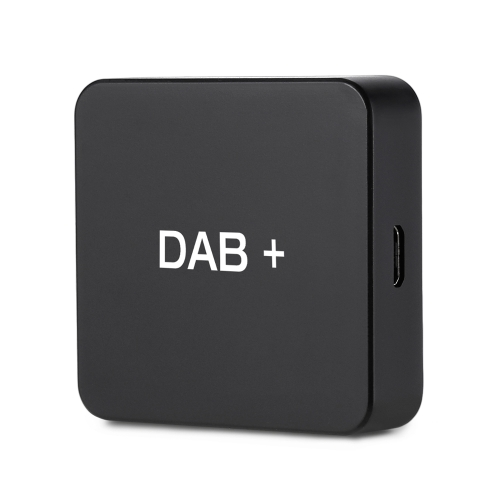 DAB 004 DAB+ Box Digital Radio Antenna Tuner FM Transmission USB Powered for Car Radio Android 5.1 and Above (Only for Countries t