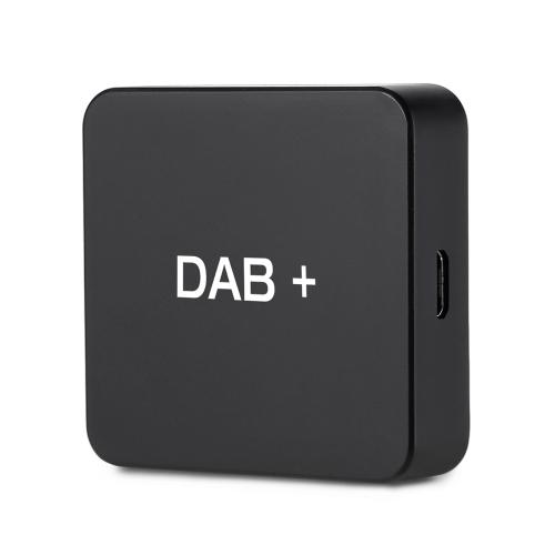 DAB 004 DAB + Box Radiobudzik cyfrowy Tuner FM Transmisja USB Zasilanie dla radia samochodowego Android 5.1 i powyżej (tylko dla krajów, które mają sygnał DAB)
