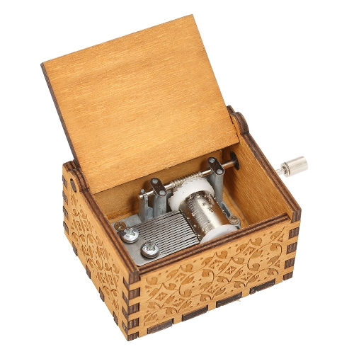 $1.32 OFF Vintage Wooden Theme Song Music Box,free shipping $5.99(Code:MV4128)