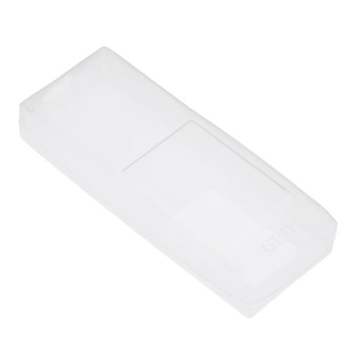 1 PC Silicone Télécommande De Protection Sac De Rangement Étanche Anti-Poussière Protecteur Housse Case Pour Télécommandes de Condition de L'air (12 * 4.5 * 2 cm)