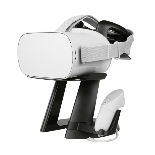 UPartner VR Headset Stand Monitor Mount Display Holder Handle Storage Shelf for Oculus Go Samsung Gear VR Daydream View Vive Focus Sony PlayStation