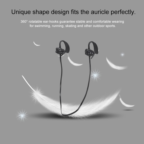 Wireless Bluetooth Headphones 8GB MP3 Music Player IPX8 Waterproof Sports Headset with Mic Sports Running Earphone for Swimming Rechargeable Battery