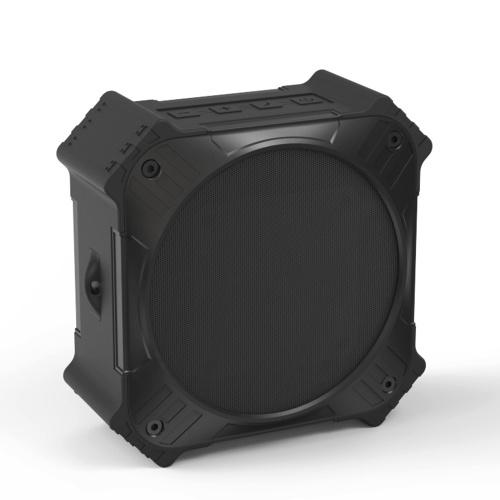ES-T80 Tragbare Bluetooth-Bluetooth-Lautsprecher IPX6 wasserdichter Outdoor-Subwoofer 5W-Lautsprecher AUX IN Solarladung mit Fahrradbefestigungsschraube Loch
