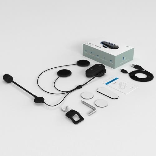 B35 Bluetooth 4.1+EDR Motorcycle Helmet Headsets Waterproof Low Consumption Wireless Earphone Earbuds Support FM Radio