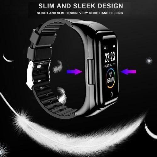 2-In-1 Smart Watch True Wireless Bluetooth 5.0 Headphones Fitness Tracker