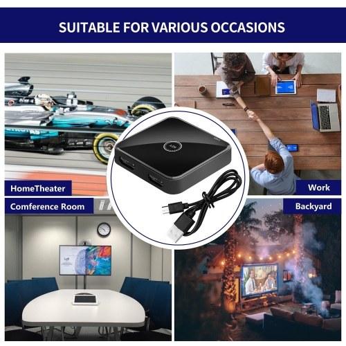 HD01 4K Switcher HD 2.0 Video Splitter Support HD2.0b for TV Box PS4/3 Video Extractor Spdif Audio Converter Audio Adapter