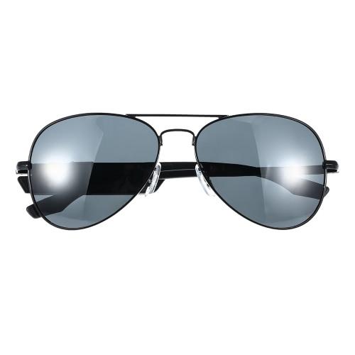K3 BT Headset óculos de sol polarizado óculos & Wireless BT 4.1 + EDR música auscultadores mãos-livres w / Mic preto para iPhone Samsung LG Android iOS inteligente telefones Tablet PC