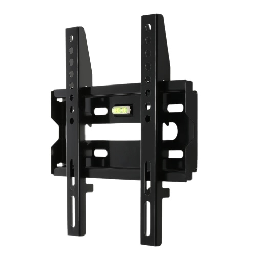 RL-004-1 TV Wall Mount Flat Panel fixo Suporte de Montagem de tela plana com 230 * 230 VESA capacidade de carga 50 kg para 14-32in tela LED LCD