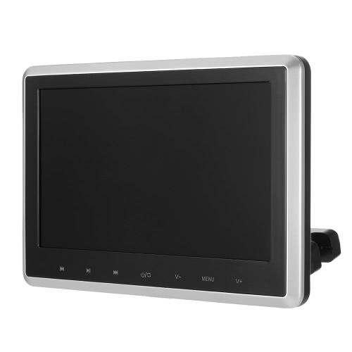 Docooler 10.1 Inch TFT Digital LCD Screen Car Headrest DVD Player Touch Button Monitor with HD USB SD Port Remote Control