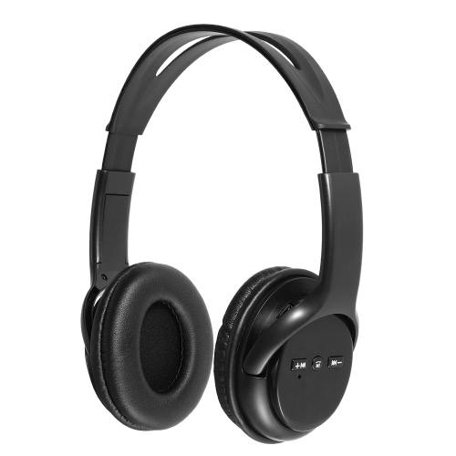 Sans fil Bluetooth casque Over-Ear mains-libres avec micro pour iPhone 7 Plus Samsung Galaxy autres périphériques Bluetooth