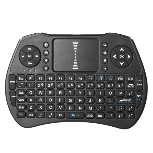 2.4GHz Wireless QWERTY Teclado Air Mouse Touchpad Handheld Remote Control