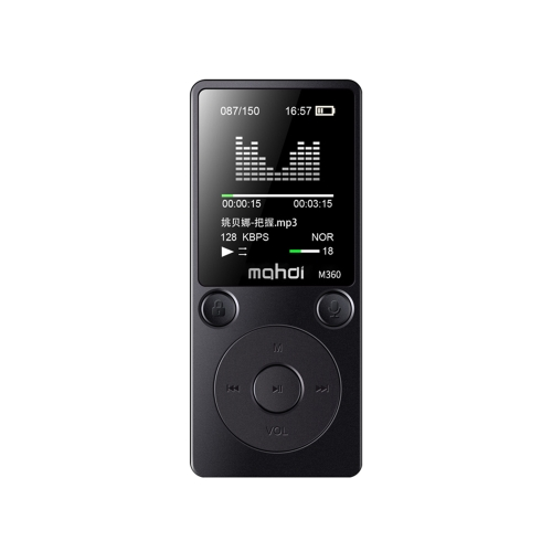 Mahdi M360 1,8 polegadas tela 8 GB MP3 MP4 Digital Player