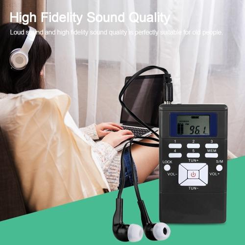Mini Portable DSP Stereo FM Radio