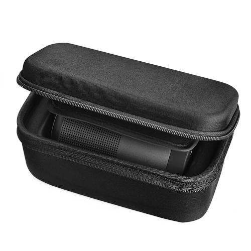 EVA caixa protetora transportando caso de armazenamento para Bose SoundLink Revolve Bluetooth Speaker capa de viagem Bag para Revolve Speakers Power Adapter Plug Cable