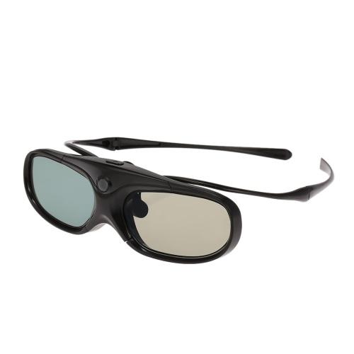 Image of G300 Active Shutter 3D-Brille Clip-On-Typ Kompatibel mit DLP-Link-Projektor mit abnehmbarem Tempelprojektor mit 3D-Funktion Wiederaufladbare 3D-Brille 3D-Brillen-Clip