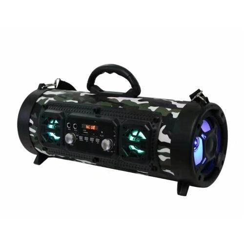 M17 Wireless BT Shock Haut-parleur Bass En plein air Puissant Multifonctionnel HiFi Stéréo Haut-parleurs De poche Soundbox