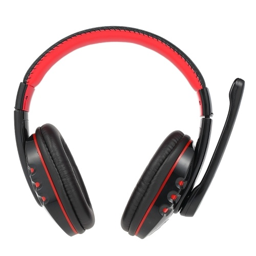 V8 High-Quality Professional Wireless BT 3.0 Gaming Headphone Earphones Headset Hands-free Adjustable Headband with Microphone for Smart Phones Desktop Notebook Tablet