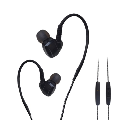 ULDUM U-699 Sport Headphone Stereo Earbuds MIC In-Ear Plugs Earphones with 3.5mm Plug Noise Cancellation & Wonderful Sound Effect Music Earphone for Smart Phones Desktop Notebook Laptop MP3 MP4 MP5
