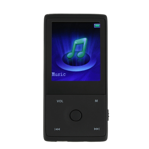 HOTT MU1036 2015 Leitor MP3 BT 8GB 1.8 polegadas tela Sports MP3 Player Gravador sem perdas de alta qualidade FM E-Book Clock
