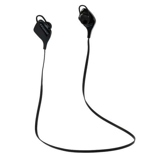 Fineblue LV-6 Bluetooth Stereo Headset Sports  Sweat-proof Bluetooth 4.0 Headphone Hands-free w / Mic Earphone White for iPhone 6S  6 Samsung S6 S5 Sony Note 5 Tablet PC Laptop