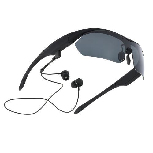 K2 Умные очки беспроводных BT стерео гарнитура поляризованные очки SmartTouch музыка наушников голосового управления руки бесплатно ж / Mic черный для верховой езды вождения рыбалки работает гольф и все мероприятия на свежем воздухе