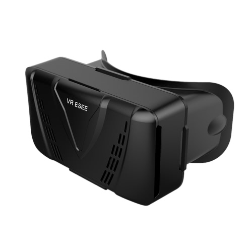 VR ESEE Virtual Reality Glasses 3D VR Box Glasses Headset for Android iOS Windows Smart Phones with 3.5  to 5.5 Inches  Black