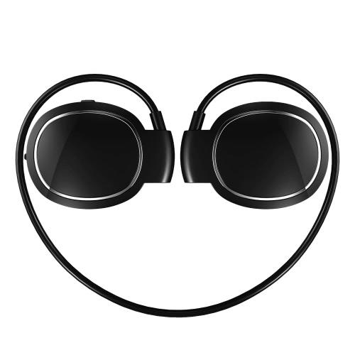 TRANGU Bluetooth наушники Ear-крючок стерео Bluetooth 4.1 Спорт гарнитура громкой ж / Mic 10-часов Музыка Время 10 часов Время разговора черный Бег гимнастики