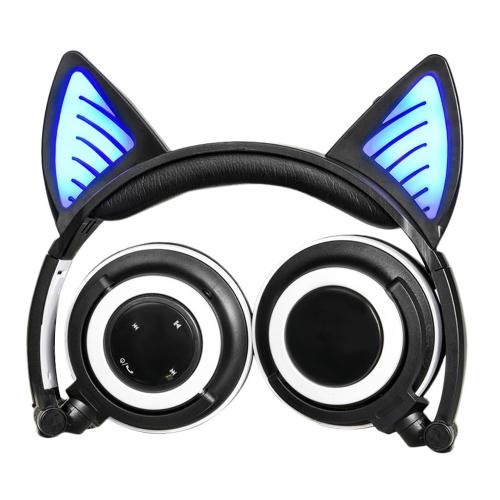 LX-BL108 fone de ouvido com orelha de gato sem fio BT sem fio