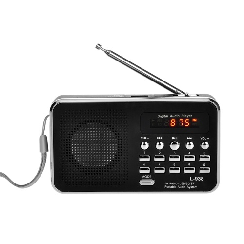 L-938 Mini Portable Digital FM Radio