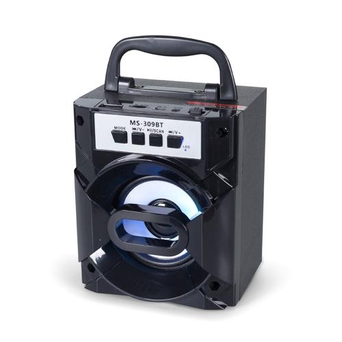 Haut-parleur portatif BT sans fil BT BT-309BT